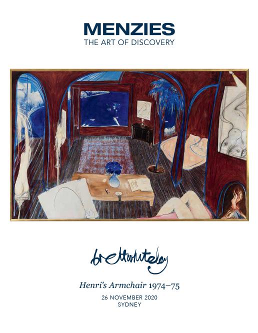 BRETT WHITELEY Henri's Armchair 1974-75 image