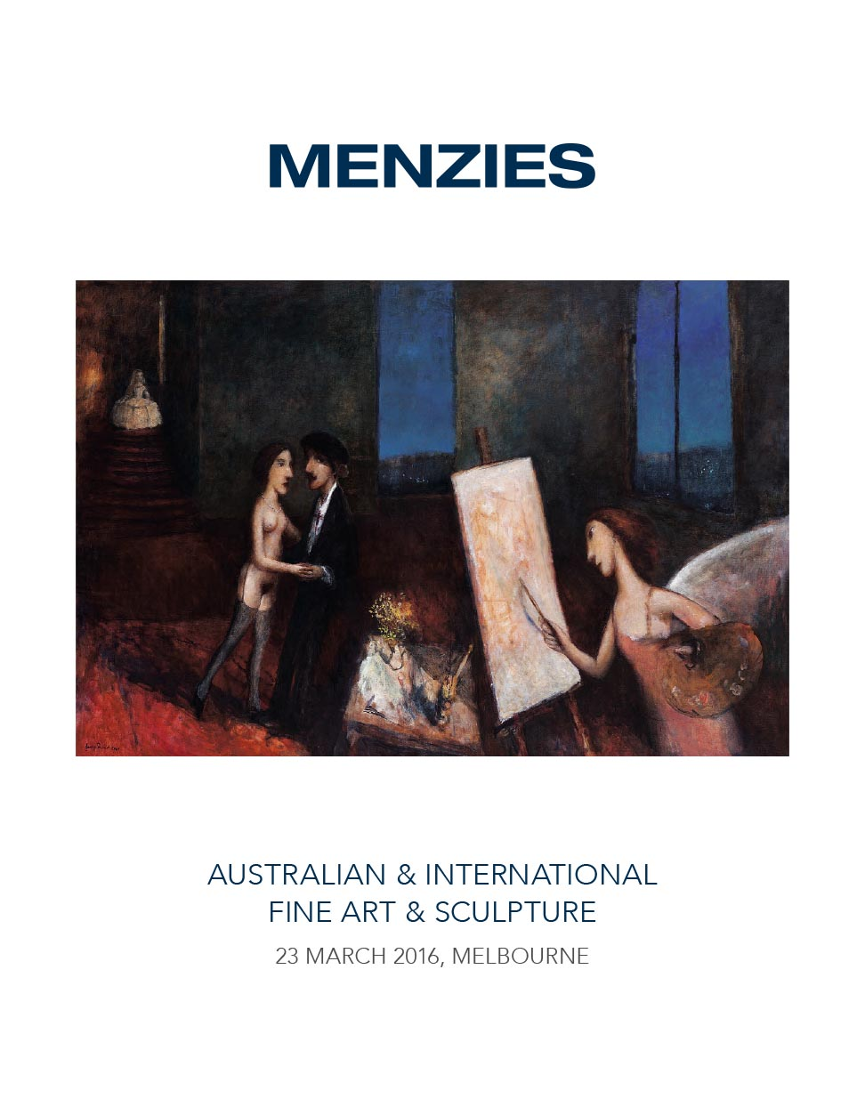 Menzies 23 March 2016 Auction image