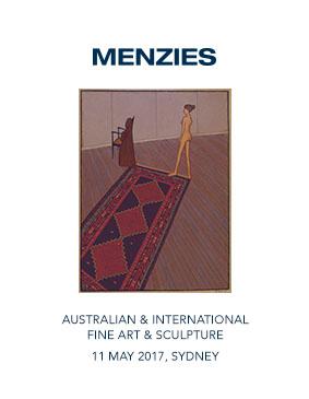 Menzies May 2017 Auction Australian & International Fine Art & Sculpture image
