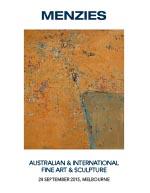 Menzies 24 September Auction Catalogue image