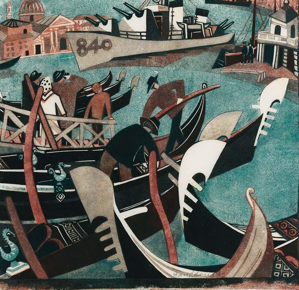Schiffe (Boats) | Menzies Art Brands | Australian Art