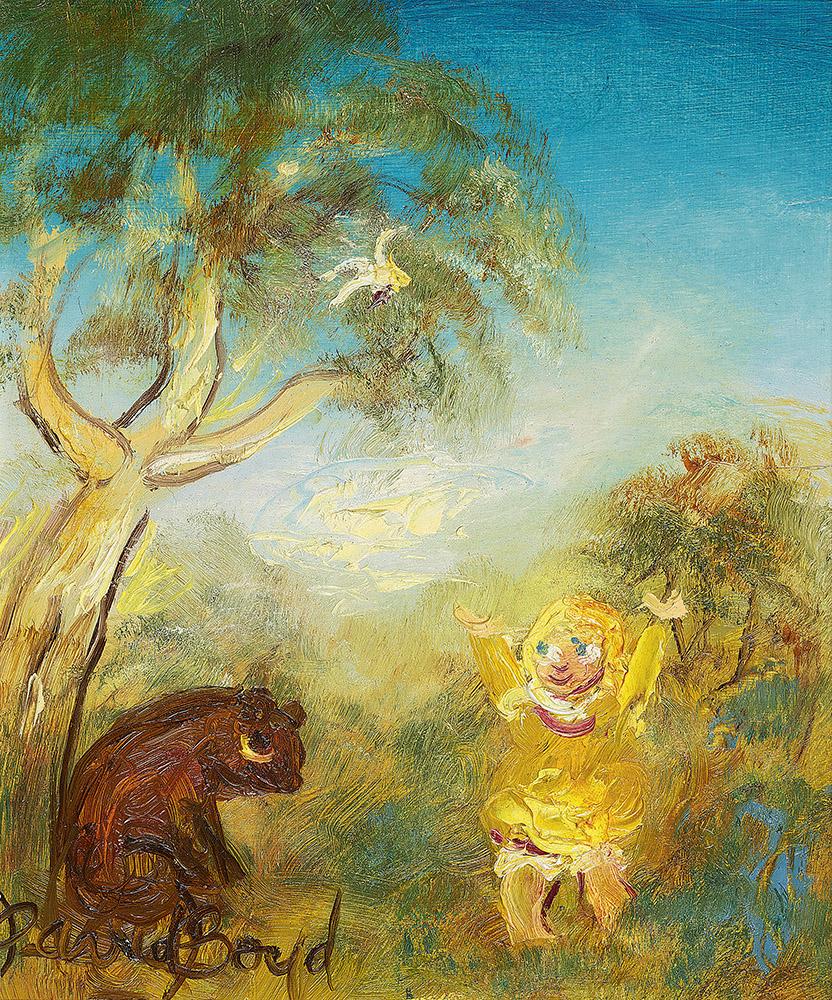 Child And Wombat Menzies Art Brands Australian Art