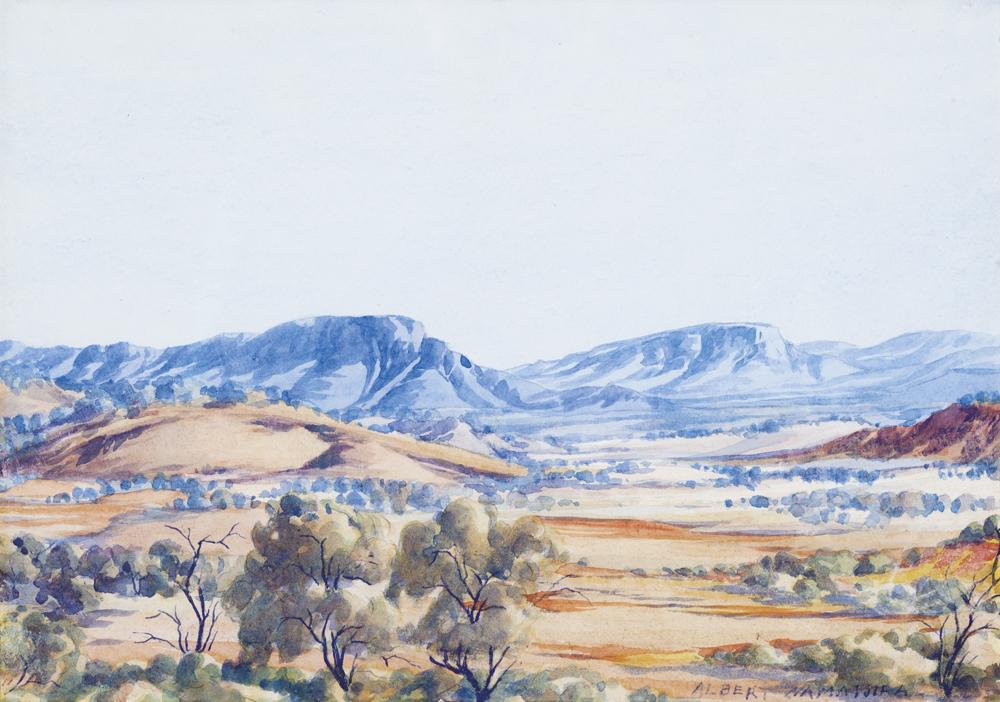 Macdonnell Ranges Menzies Art Brands Australian Art