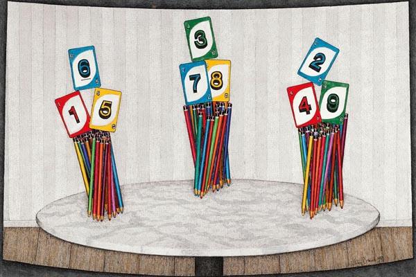 31. JOHN BRACK Pantomime1988 image