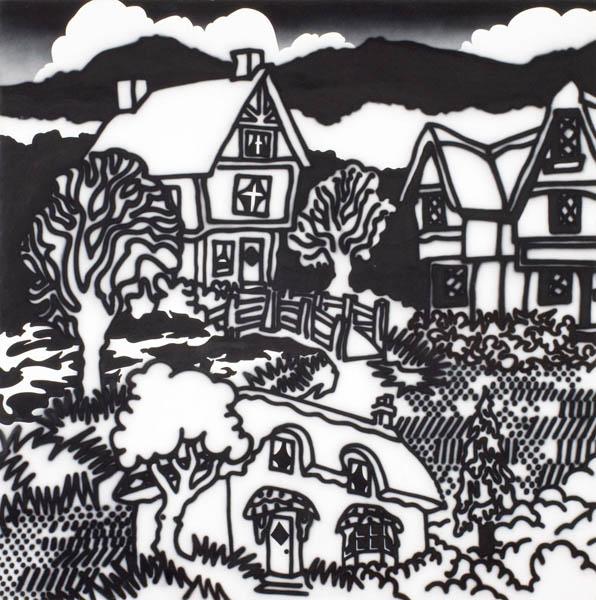 32. HOWARD ARKLEY Model Tudor Village, Fitzroy Gardens 1986 image