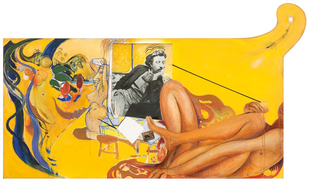 BRETT WHITELEY Gauguin (also known as Portrait of Paul Gauguin on the Eve of His Attempted Suicide, Tahiti) image