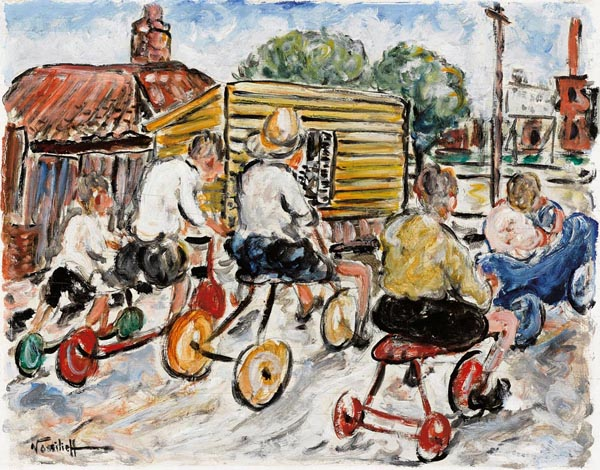 27. DANILA VASSILIEFF Soap Box Derby1938 image