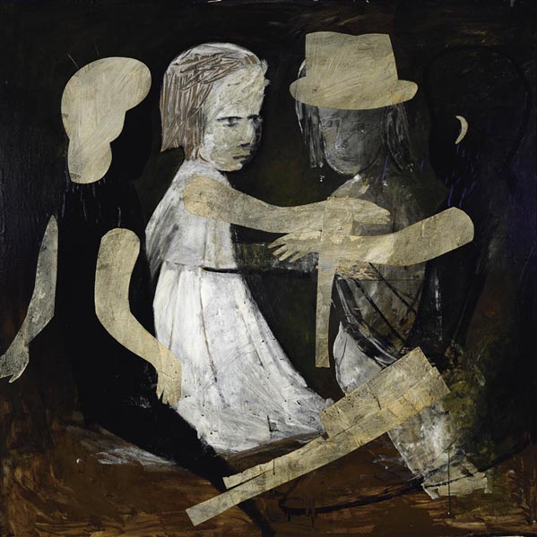 28. CHARLES BLACKMAN Four Children 1961-62 image