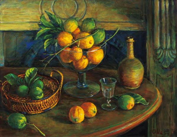 22. MARGARET OLLEY Lemons image