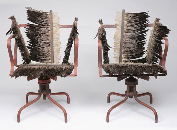 50. ROSALIE GASCOIGNE Feathered Chairs 1978 image