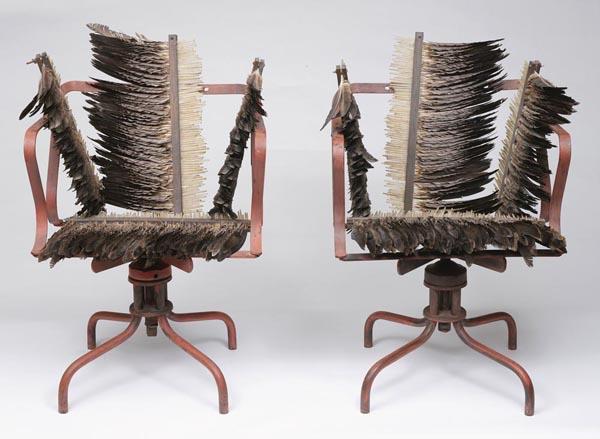 50. ROSALIE GASCOIGNEFeathered Chairs1978image