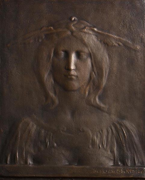 BERTRAM MACKENNAL Silence (also known as Goddess) image