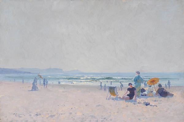 2. ELIOTH GRUNER On the Sands 1920 image