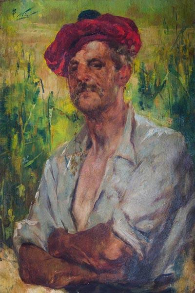 GIROLAMO NERLI The Cane Cutter image