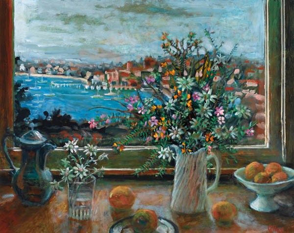 margaret olley still life with pink fish