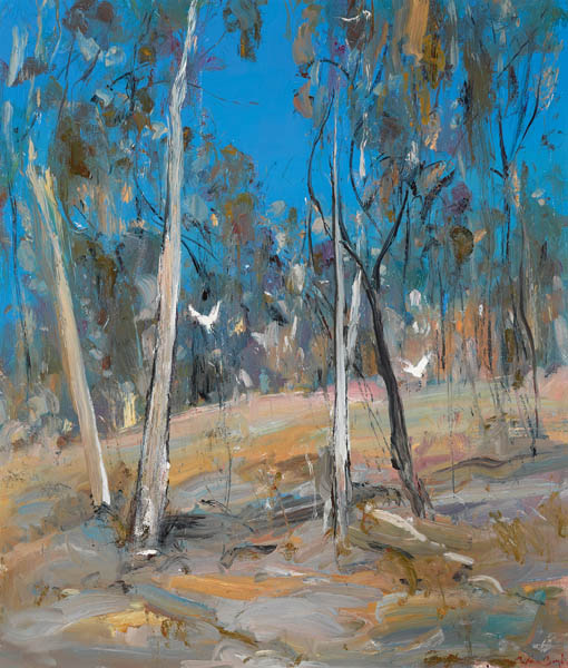 25. ARTHUR BOYD Shoalhaven Bush Landscape image