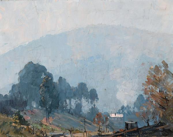 13. ARTHUR STREETON Olinda Landscape image