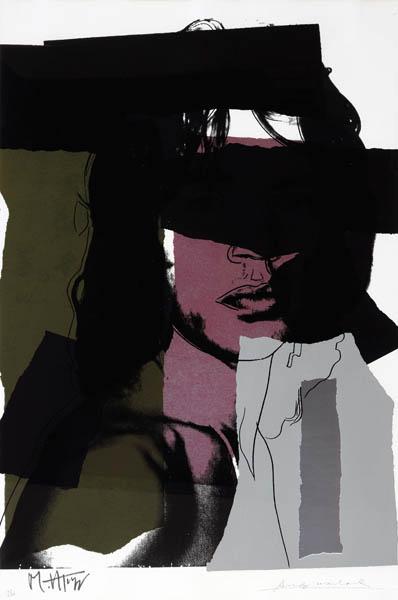 31. ANDY WARHOL Mick Jagger 1975 image