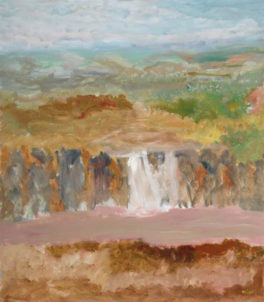 52. SIDNEY NOLAN Kimberley Landscape - Prince Regent River 1983 image