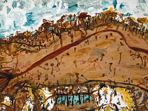 44. JOHN OLSEN Landscape1993 image