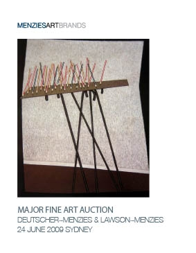 Menzies Auction - Burke 0046 Cover Image