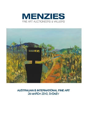Menzies Auction - Marksman 0049 Cover Image