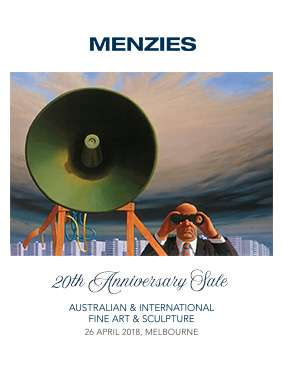 Menzies 26 April 2018 Auction - 20th Anniversary image