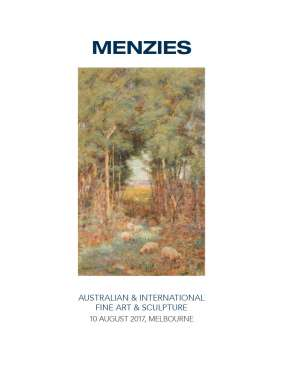 Menzies August 2017 Australian & International Fine Art & Sculpture image