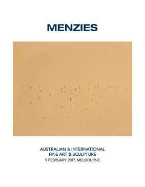 Menzies February 2017 Australian & International Fine Art & Sculpture image