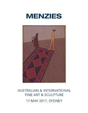 Menzies May 2017 Auction Australian & International Fine Art & Sculpture image