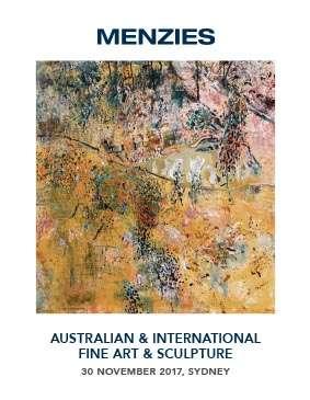 Menzies November 2017 Auction Australian & International Fine Art & Sculpture image