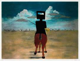 Ned Kelly (Ned Kelly series) by SIDNEY NOLAN