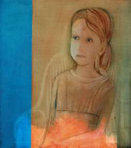Christabel in a Chair by CHARLES BLACKMAN