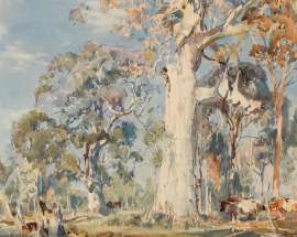 Untitled (Landscape) by HANS HEYSEN