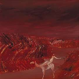 Burke and Camel by SIDNEY NOLAN
