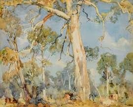 The White Gum, Ambleside by HANS HEYSEN