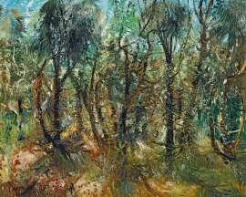 Ti Tree and She Oaks by JOHN PERCEVAL
