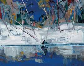 The Cleft, Shoalhaven by ARTHUR BOYD