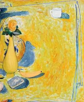 Still Life with Banana by BRETT WHITELEY