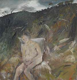 Figure in Landscape by ARTHUR BOYD