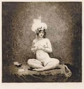 This Shrine by NORMAN LINDSAY