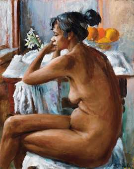 Nude by MARGARET OLLEY