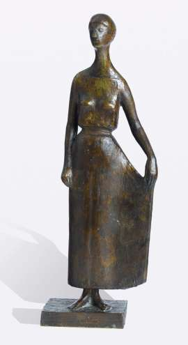 Standing Figure in Robe by GERHARD MARCKS