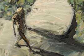 Figure and Light Rock by EUAN MACLEOD