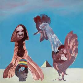 Notes for Oedipus by SIDNEY NOLAN