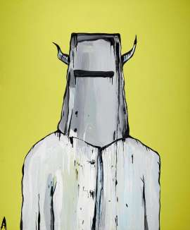 Untitled (Ned Kelly) by ADAM CULLEN