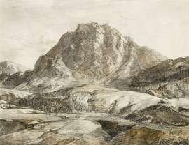 Flinders Ranges, South Australia by HANS HEYSEN