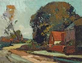 Old Cottage, Westerham by SYDNEY LONG