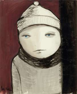 Untitled (Child with Hat and Scarf) by JOY HESTER