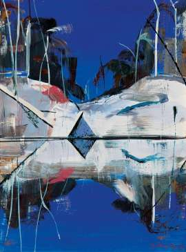 Shoalhaven Reflections by ARTHUR BOYD